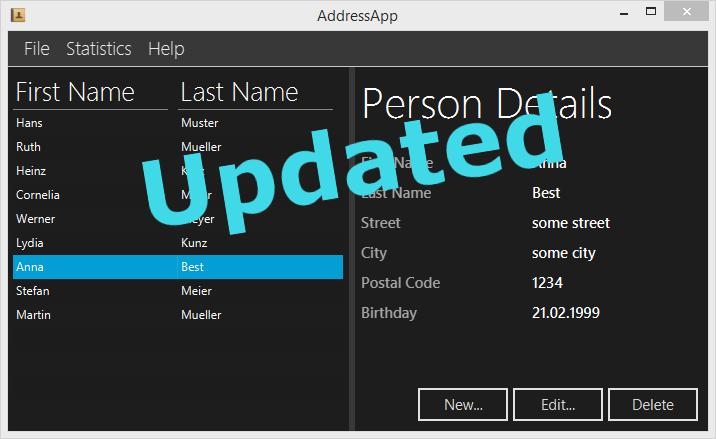 JavaFX Update for JDK 8u40 | code makery ch
