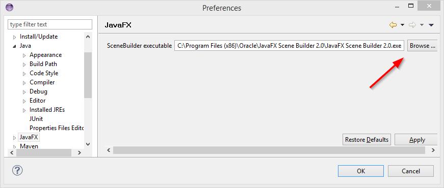 Часть 1: Scene Builder | Учебник по JavaFX (Русский) | code